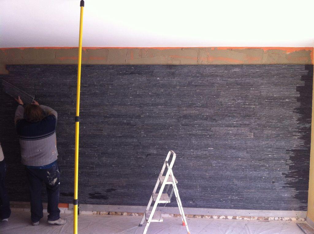 Pierres de parement mur int rieur dfc les artisans de for Construction mur interieur