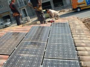 panneau solaires toiture