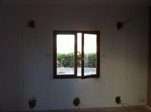 La fenêtre à déposer